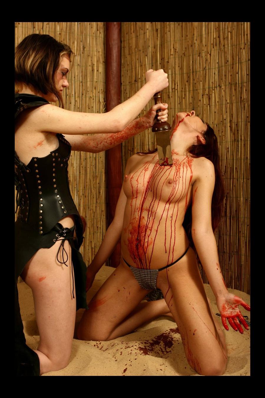 Female Navel Stab