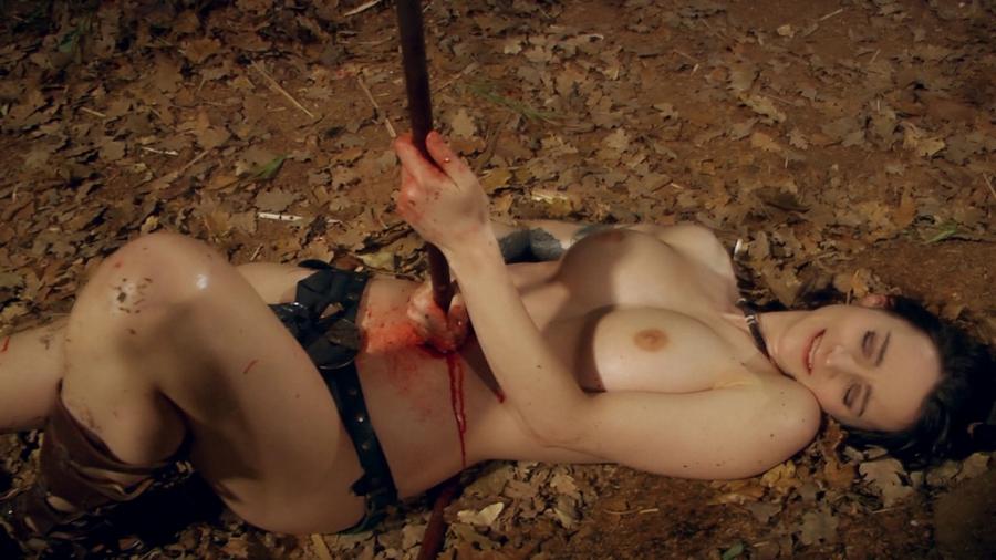 Убитая Голая Девка